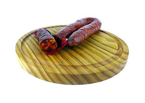 Villoslada - Chorizo Riojano Picante - Indicación Geográfica Protegida - Pieza 280Gr