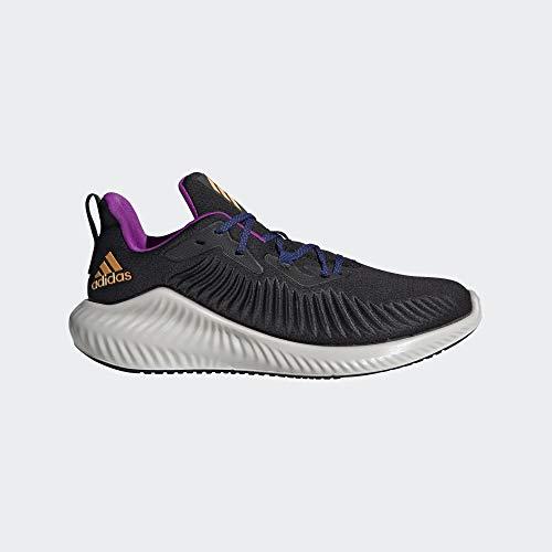 Adidas Alphabounce+, Zapatillas de Running Hombre, Multicolor (Negbás/Ororea/Narsol 000), 46 2/3 EU