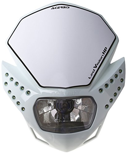 Acerbis 0013429.030 LED-Maske Vision HP weiß