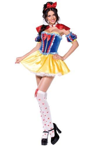 Smiffys - Disfraz de Blancanieves sexy para mujer, talla M (38 ...
