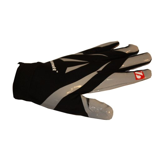 BARNETT Frg-03 Professional Empfänger Fußball Handschuhe, RE, DB, RB, Schwarz, (L)