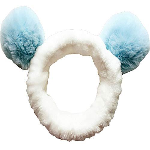Accessoires de cheveux pour le lavage du visage, Douche, Maquillage, Spa Fashion Cute Ear Headband #07