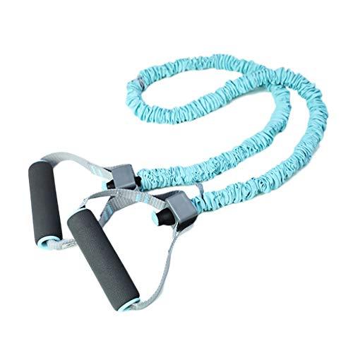 Tragbare kompakte Push-up-Stand-Yoga-Bänder Widerstandsabwicklungsband, Übung Fitness-Bands für Frauen, Muskelkrafttraining, Trainingsbänder mit Griffen, Muskeltonung Übungswiderstandsbänder für Ganzk