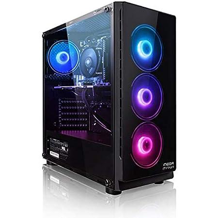 Megamania PC Gaming AMD Ryzen 5 3400G, Ordenador de sobremesa 4.2GHz Turbo Quad Core   16GB DDR4   SSD 480GB   Gráfica AMD Radeon Vega RX 11   WiFi Dual Band
