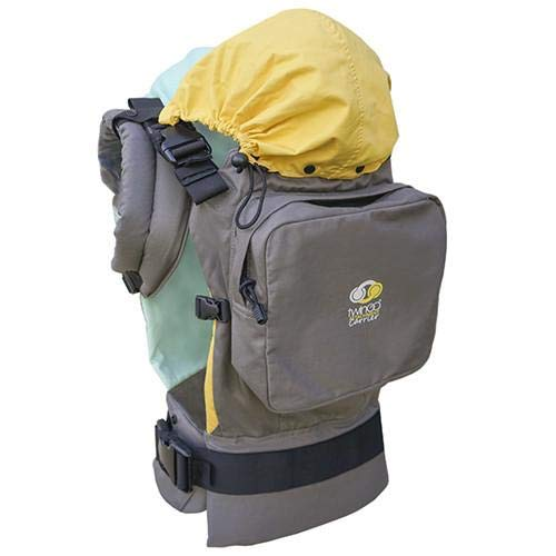 TwinGo Original Baby Carrier (Grey, Green & Yellow)