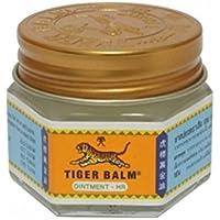 Bálsamo del Tigre (blanco) pomada–HR pomada de hierbas alivio del dolor muscular Dolor Alivio 10G. Se vende por IR verde