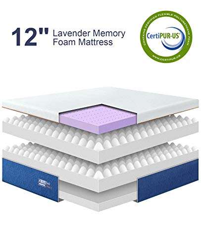 Bedstory Memory Foam Mattress With Lavender Aroma