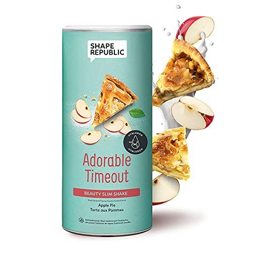 Shape Republic Beauty Slim Shake Apple Pie (420g)   Gewichtsmanagement Shake für Frauen   proteinreicher Diät Shake zum Abnehmen   vollwertiger Mahlzeitenersatz mit 23 wertvollen Vitaminen