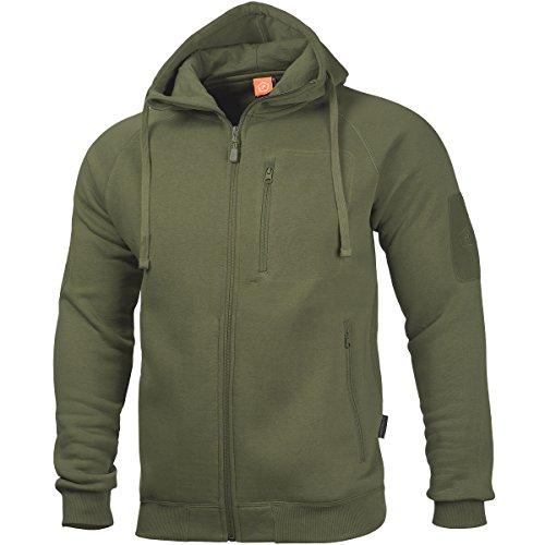 Pentagon Herren Leonidas 2.0 Pullover Oliv Grün Größe M
