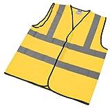 Avit AV13100 - Chaleco reflectante de seguridad, amarillo