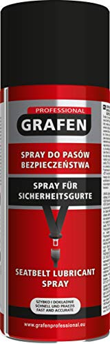 Grafen Professional Spray para Cinturones de Seguridad, Spray Grasa lubricante 400 ml