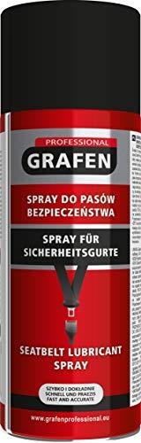 Grafen Professional Spray para Cinturones de Seguridad, Spray Grasa lubricante 400 ml