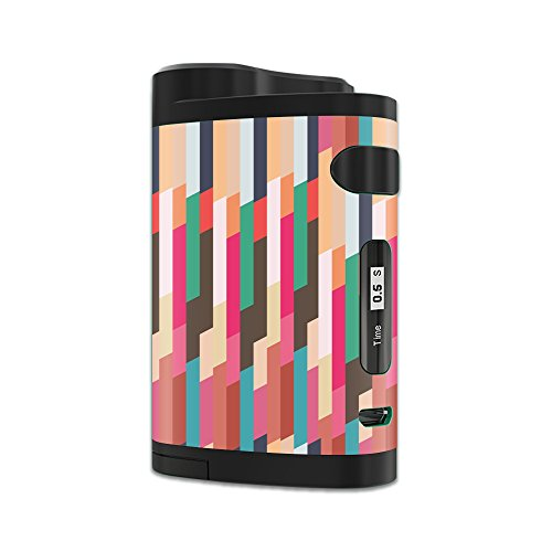MightySkins Skin Compatible with Eleaf iStick Pico Dual – Crazy Stripes | Protective, Durable, and Unique Vinyl Decal wrap Cover | Easy to Apply, Remove, and Change Styles | Made in The USA