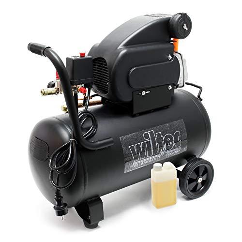 Compresor 50L 1,5 kW Presión 8 bar Compresor aire con ruedas Aire comprimido Herramientas neumáticas