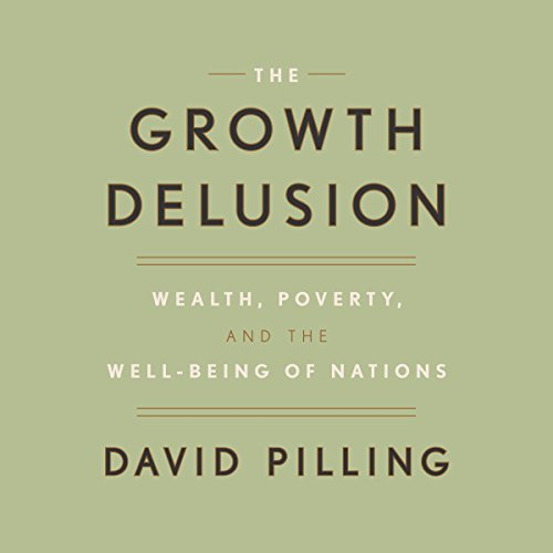 The Growth Delusion audiobook cover art