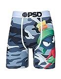 PSD Men's Boxer Brief (Black/Looney Toons M CAMO, M)