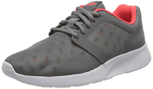 Nike Wmns Kaishi Print, Zapatillas de Deporte Mujer, Gris (Cl Gry/Cl Gry-Brght Crmsn-Whit), 42 1/2