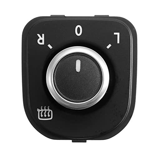Mirador Lateral del automóvil Ajuste el Interruptor de la Perilla para VW Golf GTI MK5 MK6 Passat B6 3C Rabbit Side Switch (Color : Black)