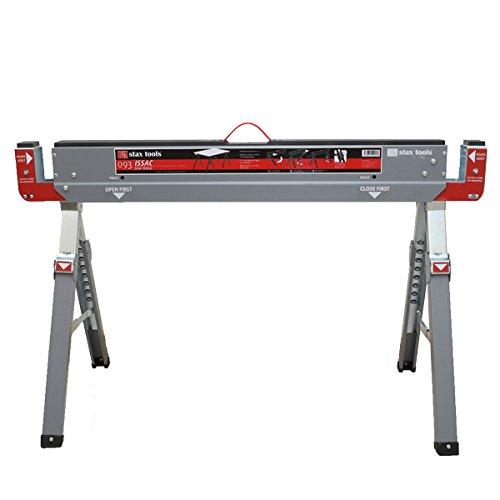 ソーホース 丈夫 コンパクト 折りたたみ 【stax tools】093 ISSAC (折り畳み式ソーホース) 2脚セット