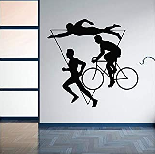 competitive swimming wall decals