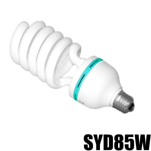 DYNASUN Fotolampe Spirallampe Energiesparlampe Tageslicht SYD 85 400W 5400K Tageslichtlampe Studioleuchte