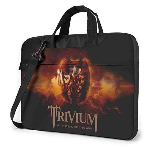 DFHDFH Trivium Laptop Bag Laptop Sleeve Case with Shoulder Straps & Handle/Notebook Computer Case Briefcase Compatible 13 inch