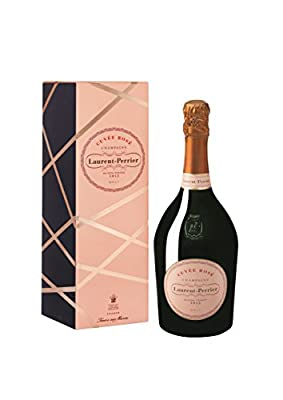 Laurent Perrier Cuvee Rose Non Vintage Champagne in Gift Box, 75 cl