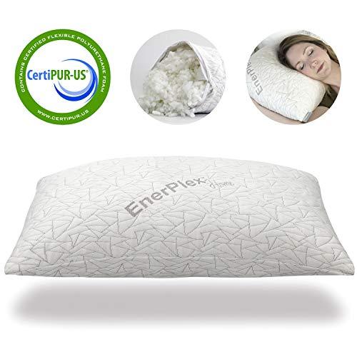 EnerPlex Never-Flat King Pillow, CertiPUR-US...