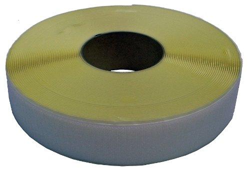 クラレファスニング 粘着付 マジックテープA面フック 幅50mm 長さ25m 白 箱入り