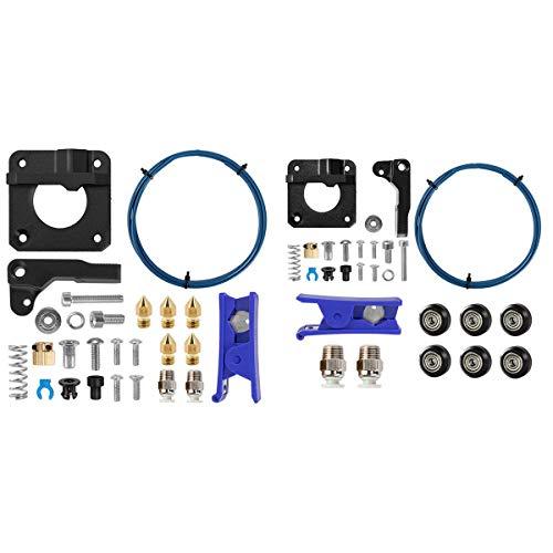 SNOWINSPRING Creality Upgraded 3D Printer Kit with Printer Extruder Upgrade Metal Kit Dual-Drive Extruder
