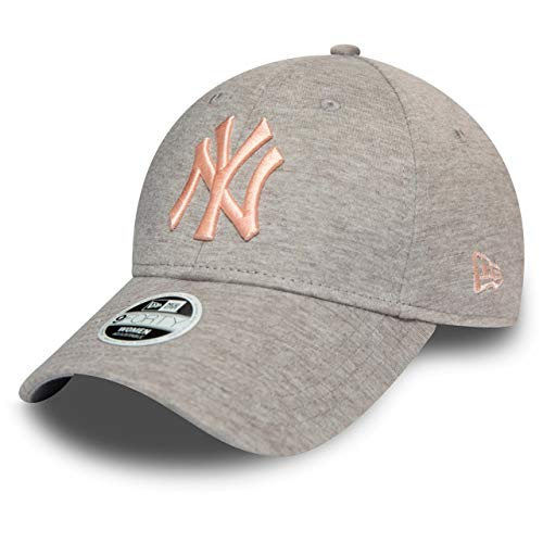 New Era 9Forty Damen Cap - Jersey New York Yankees grau