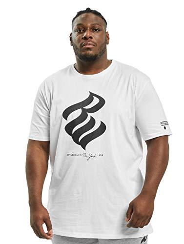 Rocawear Männer T-Shirt Big Oberteil Übergrössen Weiß 10XL