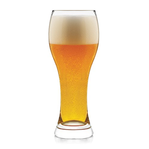 Libbey Craft Brews Wheat Beer Glasses, 23-ounce, Set of 6