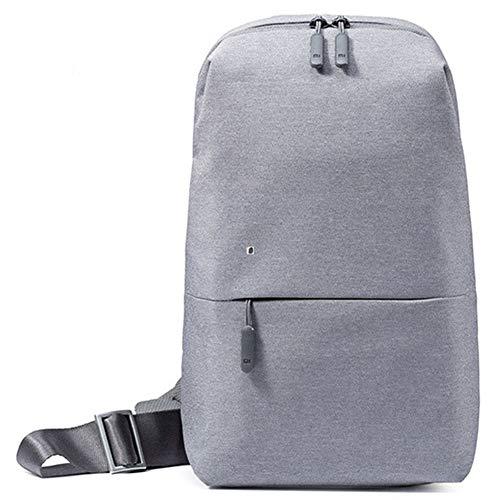 Angle-w diseño Elegante, Viajes Sencillos, Bolsa de montañismo Exterior Viajes Mochila de Negocios Paquetes de Pecho Bolsas Hombres Mujeres Sling Bag para Ocio Deportes Portátil Vamos mas lejos