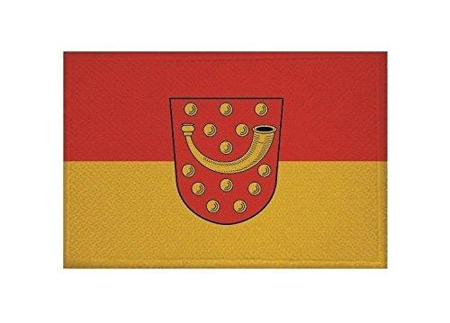 U24 Aufnäher Nordhorn Fahne Flagge Aufbügler Patch 9 x 6 cm