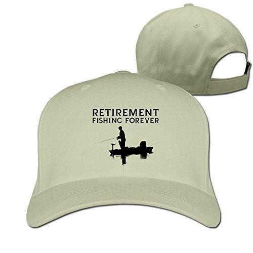 Feruch Buck Wear Retirement PlanHat Baseball Caps Natural