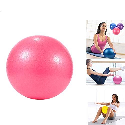 Pelota de yoga de PVC a prueba de explosiones, estabilidad y equilibrio, para niños, embarazadas y mujeres, 25 cm