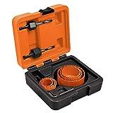 TRUPER KIT-8 kit de sierra perforadora de 8 piezas