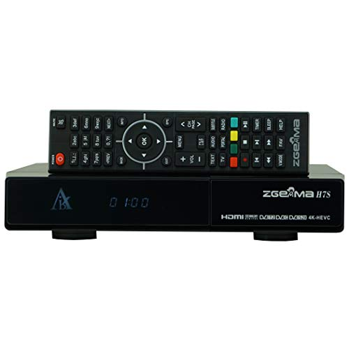 Zgemma H7S - 4k - Dual sat DVB-s2X e DVB-T2 - Triple - Multistream - IPTV - SPEDIZIONE IMMEDIATA