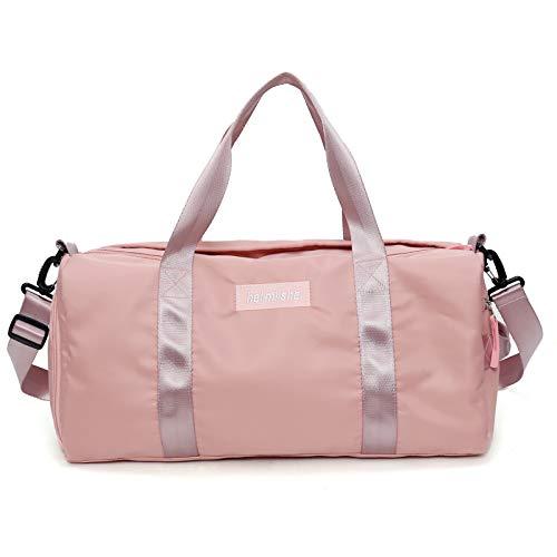AOAKY Sport Gym Bag Travel Duffel Bag Dry Wet Separated Training Handbag...