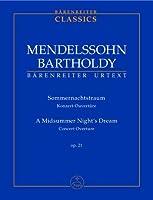 Ein Sommernachtstraum / A Midsummer Night's Dream: Konzert-Ouvertuere op. 21