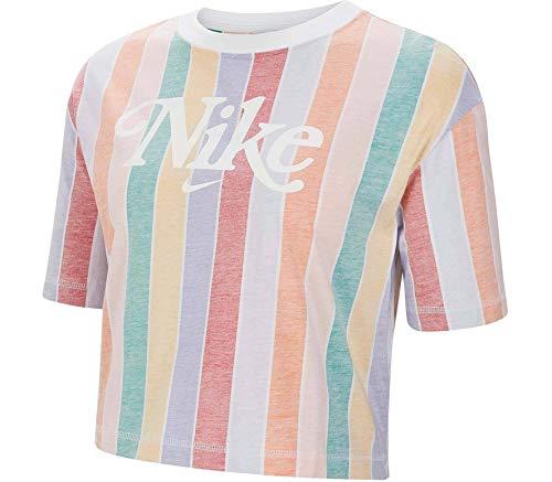 Nike Sportswear Damen Crop Top Strümpfe Rosa CJ2502-100, Pink XS-Small
