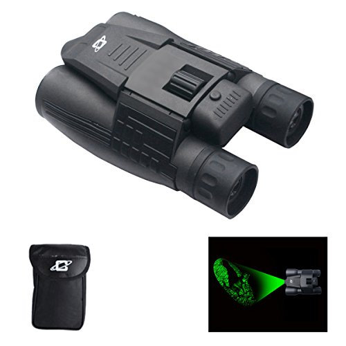 Cassini 8X Green Laser Day/Night Binocular with Case