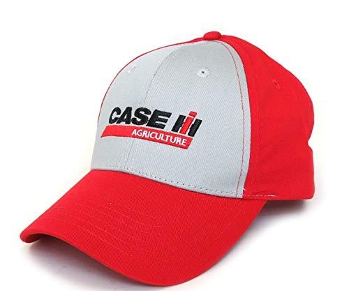 CASCASE90648 : Casquette CASE IH Agriculture Rouge et grise