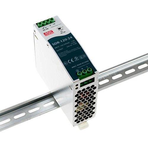 Mean Well SDR-120-24 Netzteil-Hutschiene 24Vdc / 5A / 120W / IP41