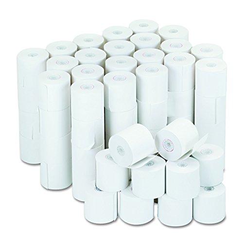 Universal 35705 Adding Machine/Calculator Roll, 16 lb, 1/2' Core, 2-1/4' x 126 ft,White (Case of 100)