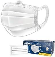 日本製 マスク 個包装 40枚入 国産 MASK 使い捨てマスク 三層構造 男女兼用 プリーツマスク ウイルス飛沫 99%カット 風邪対策 花粉症対策 ウイルス対策