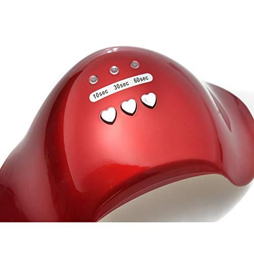 12W LED Curing Lamp CCFL Nageldroger Schoonheid Vormmachine voor UV Gel Nagellak Lampdroger