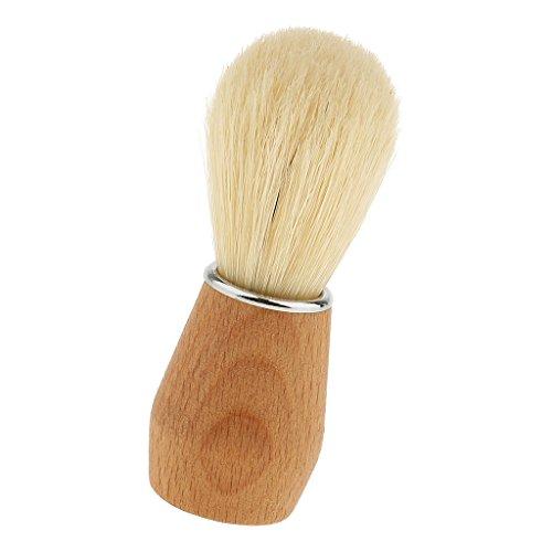 Sharplace Brosse Blaireau de Rasage 100% Poils de Blaireaus Véritable et Purs - Cadeau pour Hommes