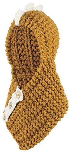 DEMU kinder baby wintermuts sjaalmuts gebreide muts slipmuts capuchon beanie capuchon sjaal